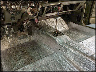 Car Insulation Mustang